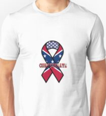 Confederate Awareness Ribbon Unisex T-Shirt