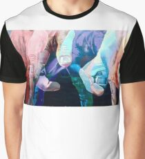 Fingers Dance Graphic T-Shirt