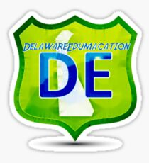 Delaware Edumacation Sticker