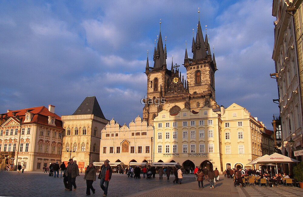 Prague Old Town Square by dags