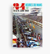 24hs Le Mans, 1969 Canvas Print