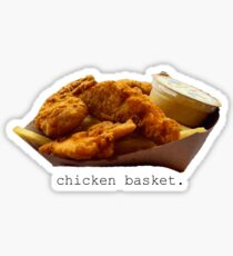 Chicken Basket Penn State Sticker