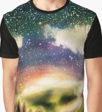 Starry Sunrise Graphic T-Shirt