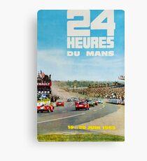 24hs Le Mans, 1965 Canvas Print