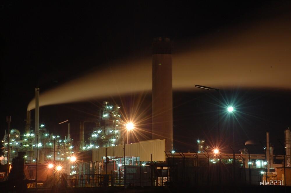 Oil Refinery by elle2231