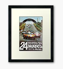 24hs Le Mans, 1966 Framed Print