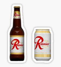 Rainier Beer Stickers Sticker