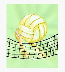 Volleyball ball Photographic Print