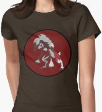 Lycanroc Midnight  Womens Fitted T-Shirt