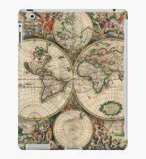World Map 1689 iPad Case/Skin