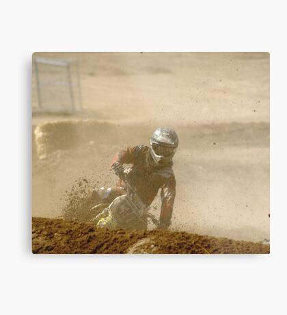 Loretta Lynn's SW Area Qualifier; Rider #130 Competitive Edge MX Hesperia, CA, (167 Views af of May 9, 2011) Metal Print