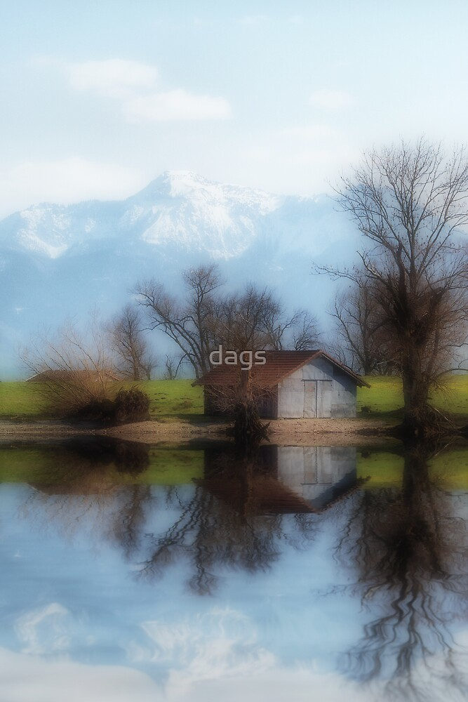 Chiemsee reflections by dags