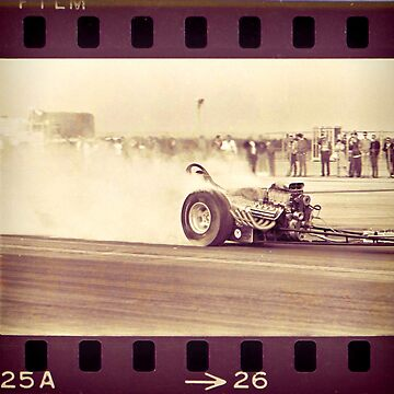 Drag Racer Burnout by Deadscan