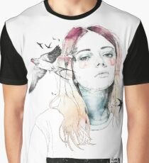 TAKE OUT YOUR BIRDS Camiseta gráfica