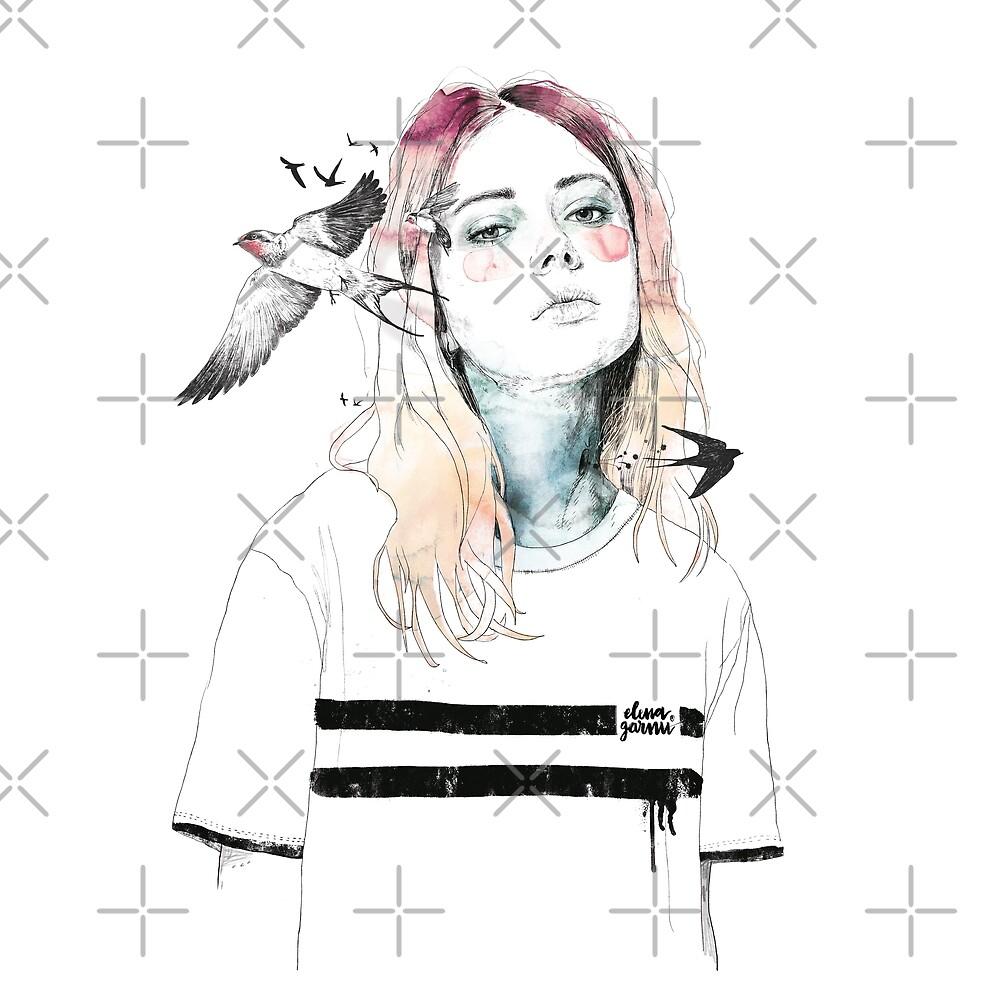 TAKE OUT YOUR BIRDS by Elena Garnu