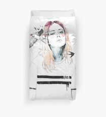 TAKE OUT YOUR BIRDS Duvet Cover