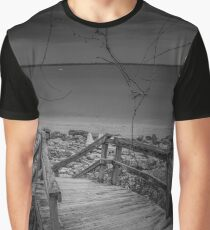 Stairway | Sands Point, New York Graphic T-Shirt
