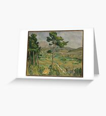 Paul Cezanne, landscape Greeting Card