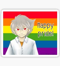Kaworu Nagisa - Happy Pride Sticker