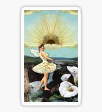 TEMPERANCE TAROT CARD Sticker