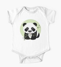 Baby Panda One Piece - Short Sleeve