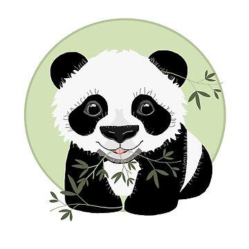 Baby Panda by karin