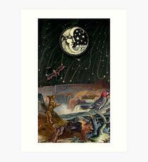 THE MOON MAJOR ARCANA Art Print