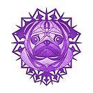 Spike the Pug by helenasia