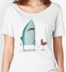 Shark and friend Women's Relaxed Fit T-Shirt