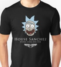 Rick And Morty Game Of Thrones House Sanchez T-Shirt