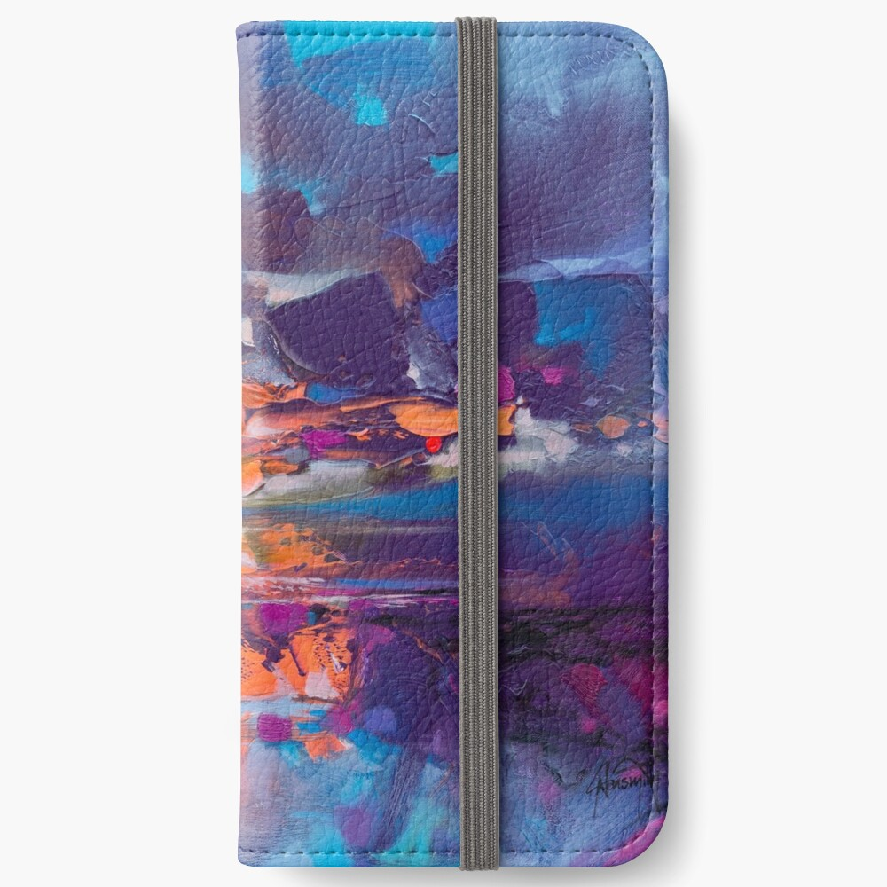 Compression iPhone Wallet