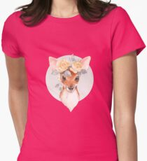 Fawn and yellow roses T-Shirt
