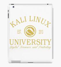 Kali Linux University iPad Case/Skin