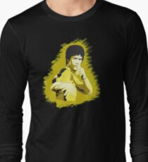 Bruce Lee Game of Death pose Long Sleeve T-Shirt