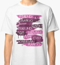 Friends From Other Ends - Purps Them Classic T-Shirt