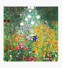 Flower Garden by Gustav Klimt Photographic Print