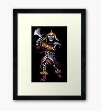 Eye Of The Beholder Skeleton Framed Print