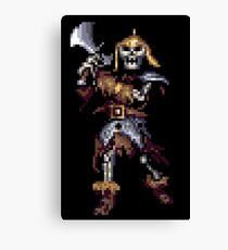 Eye Of The Beholder Skeleton Canvas Print