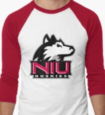 niu huskies Men's Baseball ¾ T-Shirt