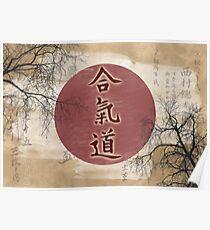 Aikido Simbol Poster