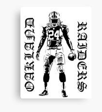Marshawn Lynch Oakland Raiders Canvas Print