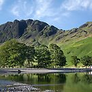 Haystacks and the Little White Hut Buttermere English Lake District by Martin Lawrence