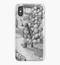 waiting for something to happen iPhone Case/Skin