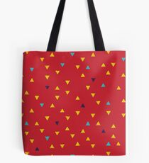 DOWN UP / ketchup / mustard / baby blue / cassis Tote Bag