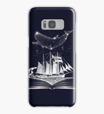 Moby Dick in the sky Samsung Galaxy Case/Skin