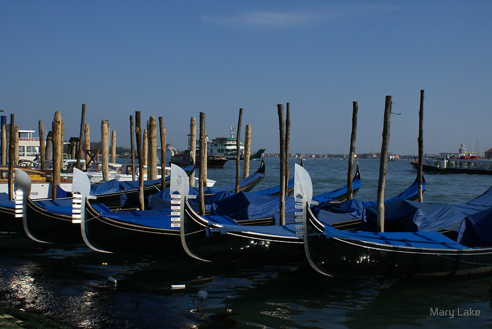 Gondola's by Mary Lake