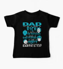 Rick And Morty Fathers Day Dad You Are Baby Tee