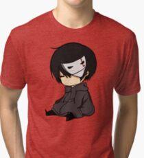 nate is sleepy. Tri-blend T-Shirt