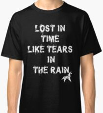 Blade Runner Lost in Time like Tears in the Rain Unicorn Classic T-Shirt