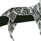Doodle Leopard by WelshPixie